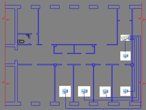 комплекс локальной сети в