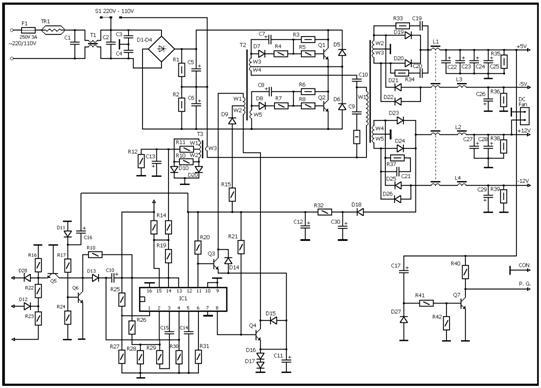 Рисунок 2.3 - Схема блока