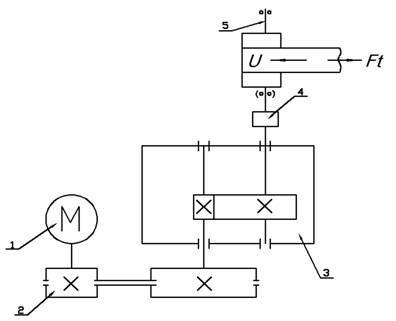 Рисунок 1 - Схема привода