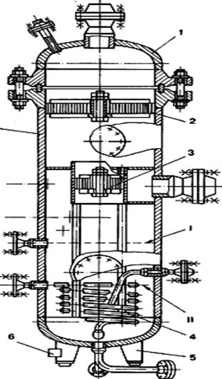 Сетчатый сепаратор типа I